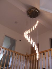 Lighting installation by qualified electrician