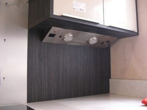 Kitchen electrical appliance installation