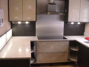 Kitchen electrical works