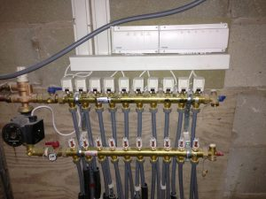 Electrical work for heating systems